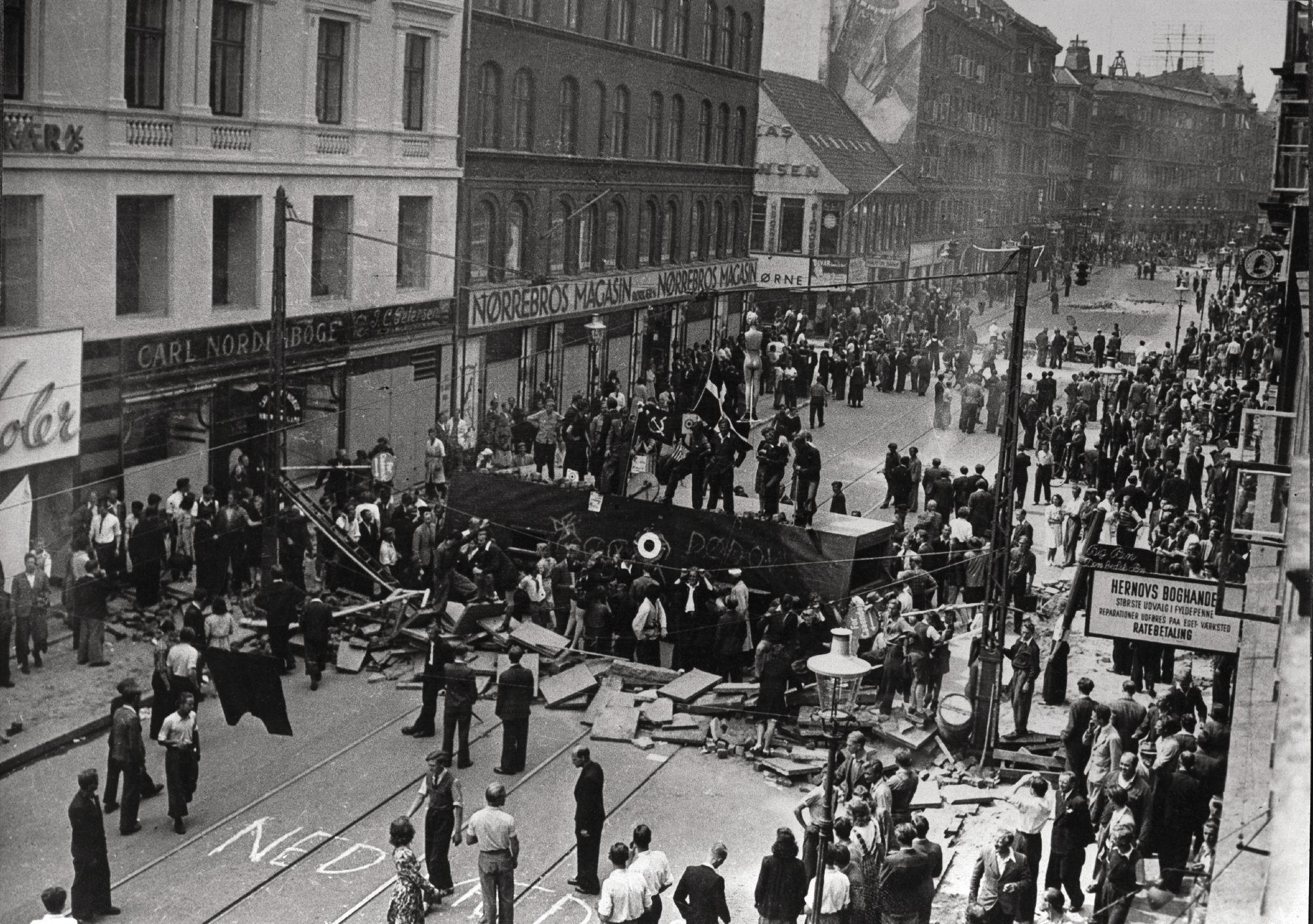 Norreboro-Aufstand 1944 in Kopenhagen - Quelle: WikiCommons
