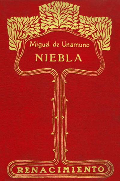 Portada de la primera edición de Niebla (1914)