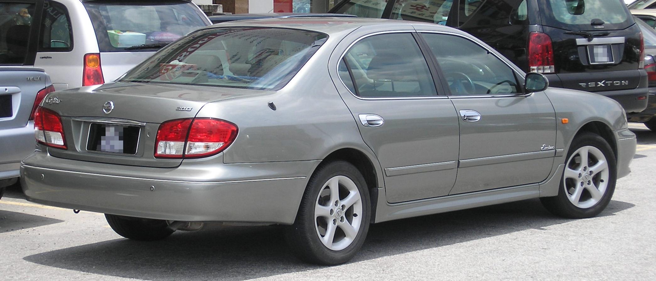 File Nissan Cefiro Third Generation Rear Serdang Jpg