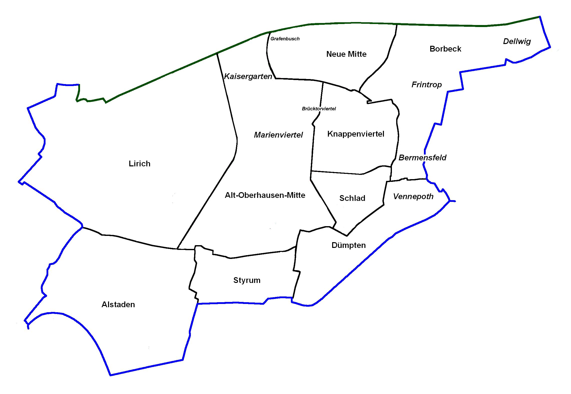oberhausen karte Datei:OB Karte Alt Oberhausen.png – Wikipedia