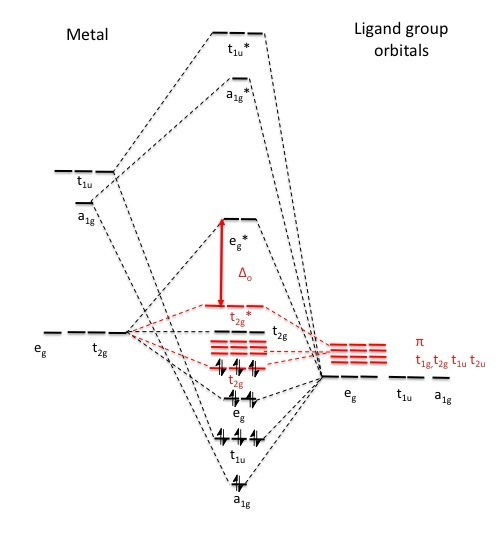 sigma bond strength of metal complex