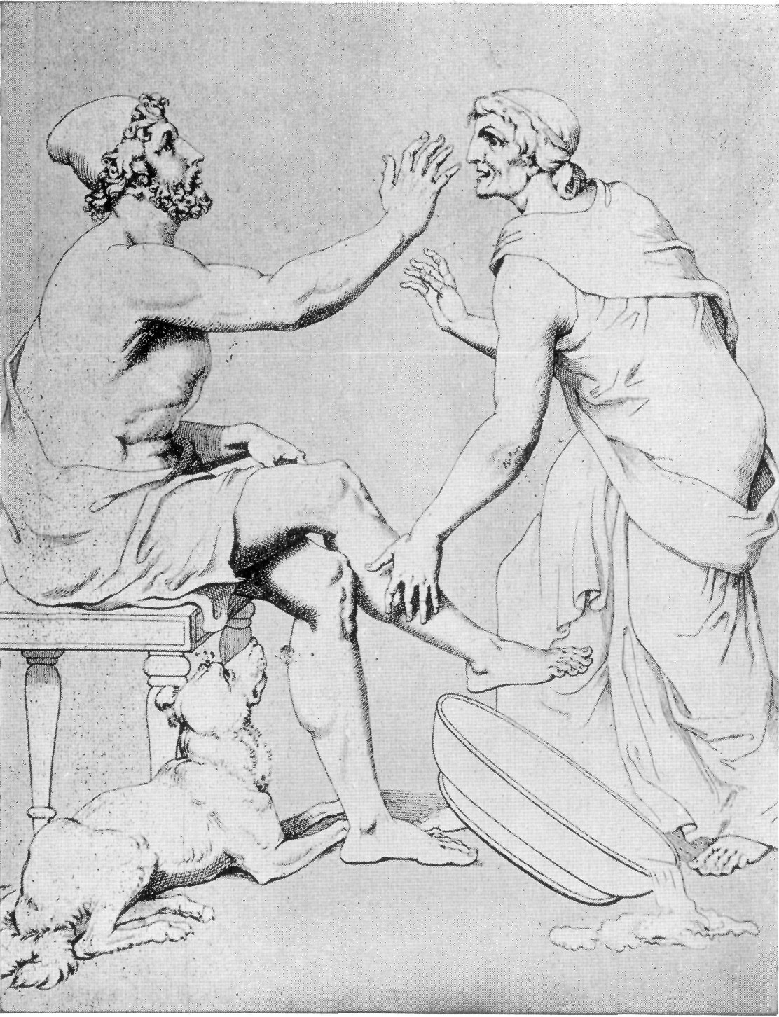 Depiction of Odiseo