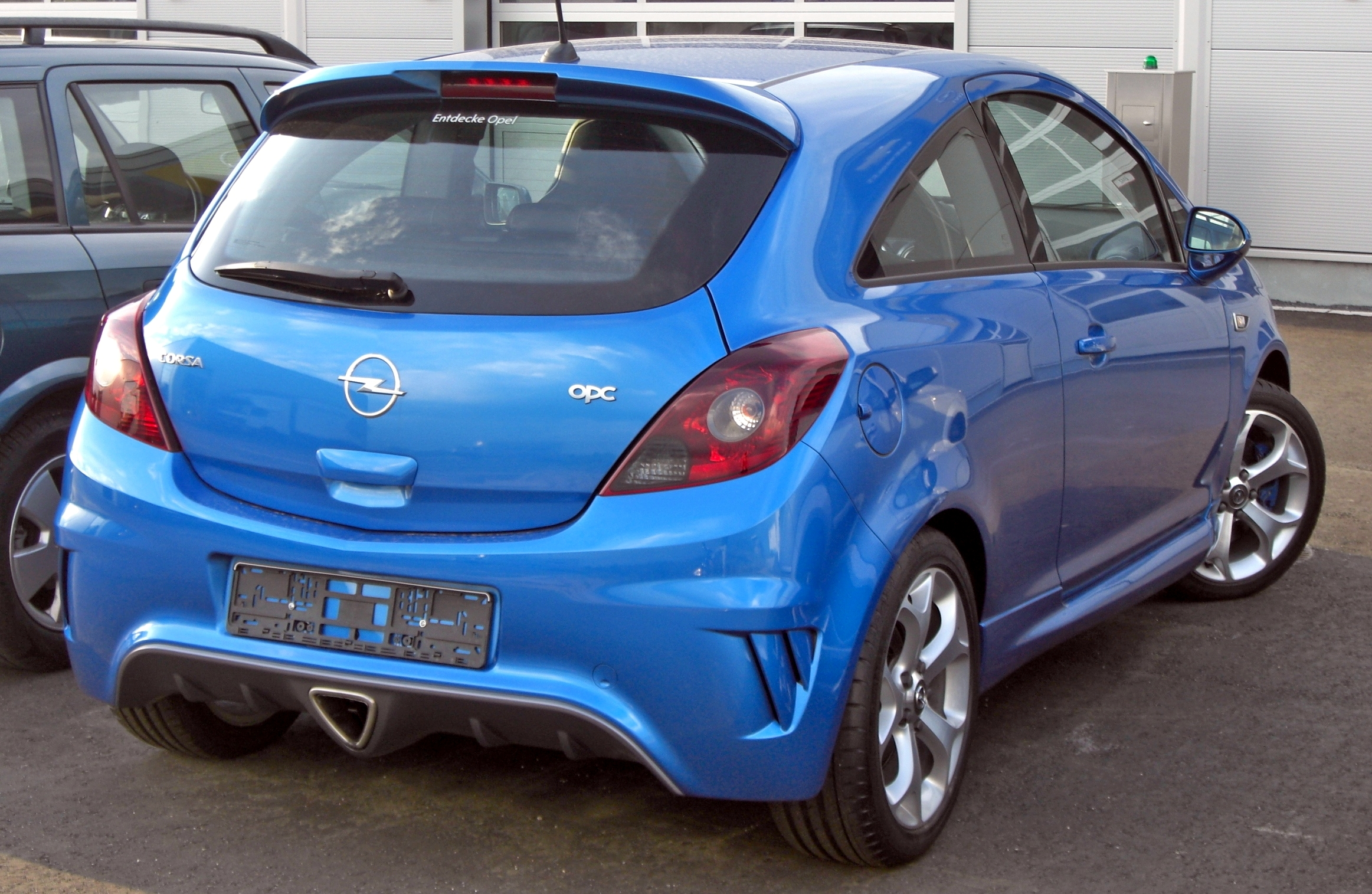 File Opel Corsa D Opc Rear Jpg Wikimedia Commons