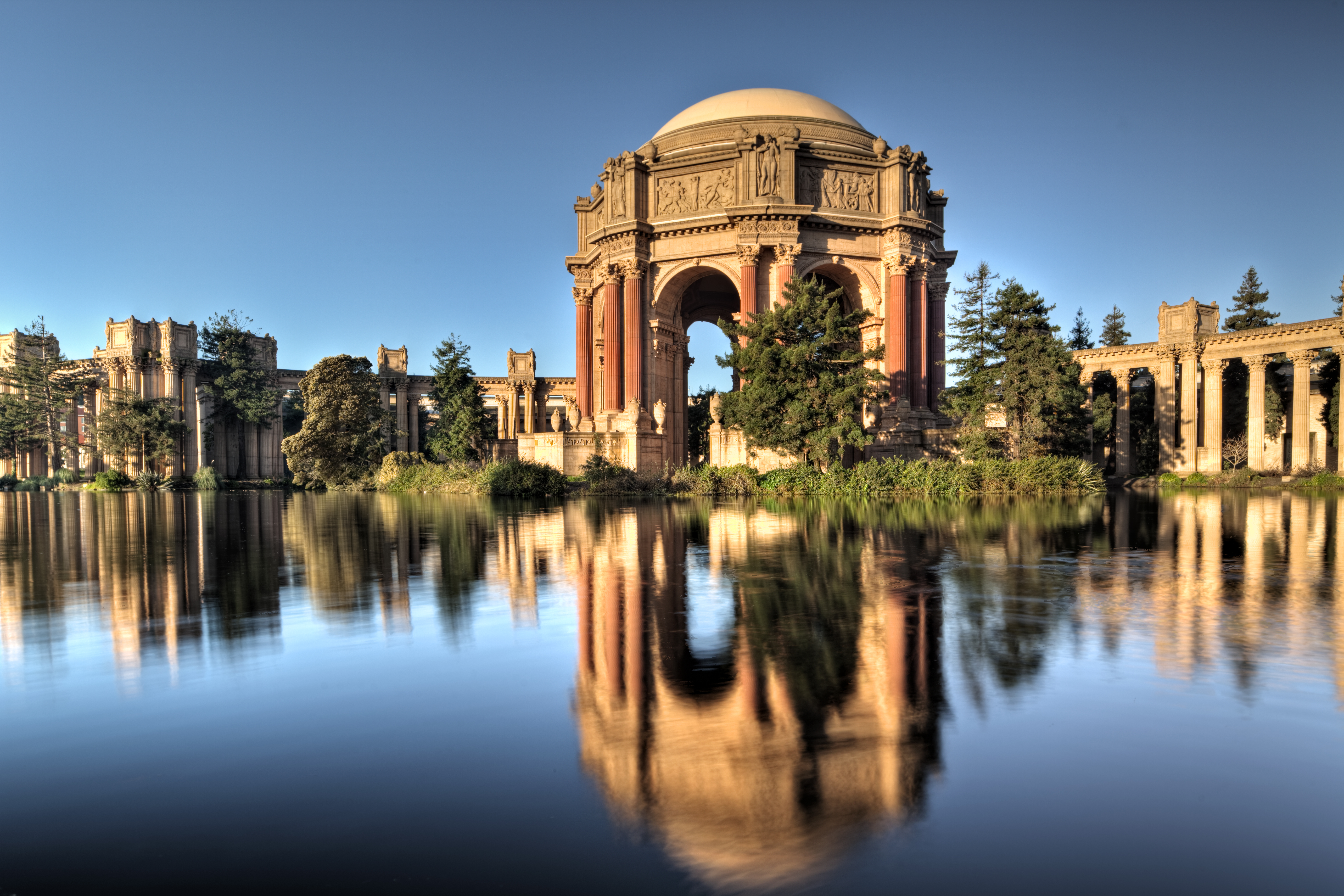 Palace of Fine Arts Theater Visiting San