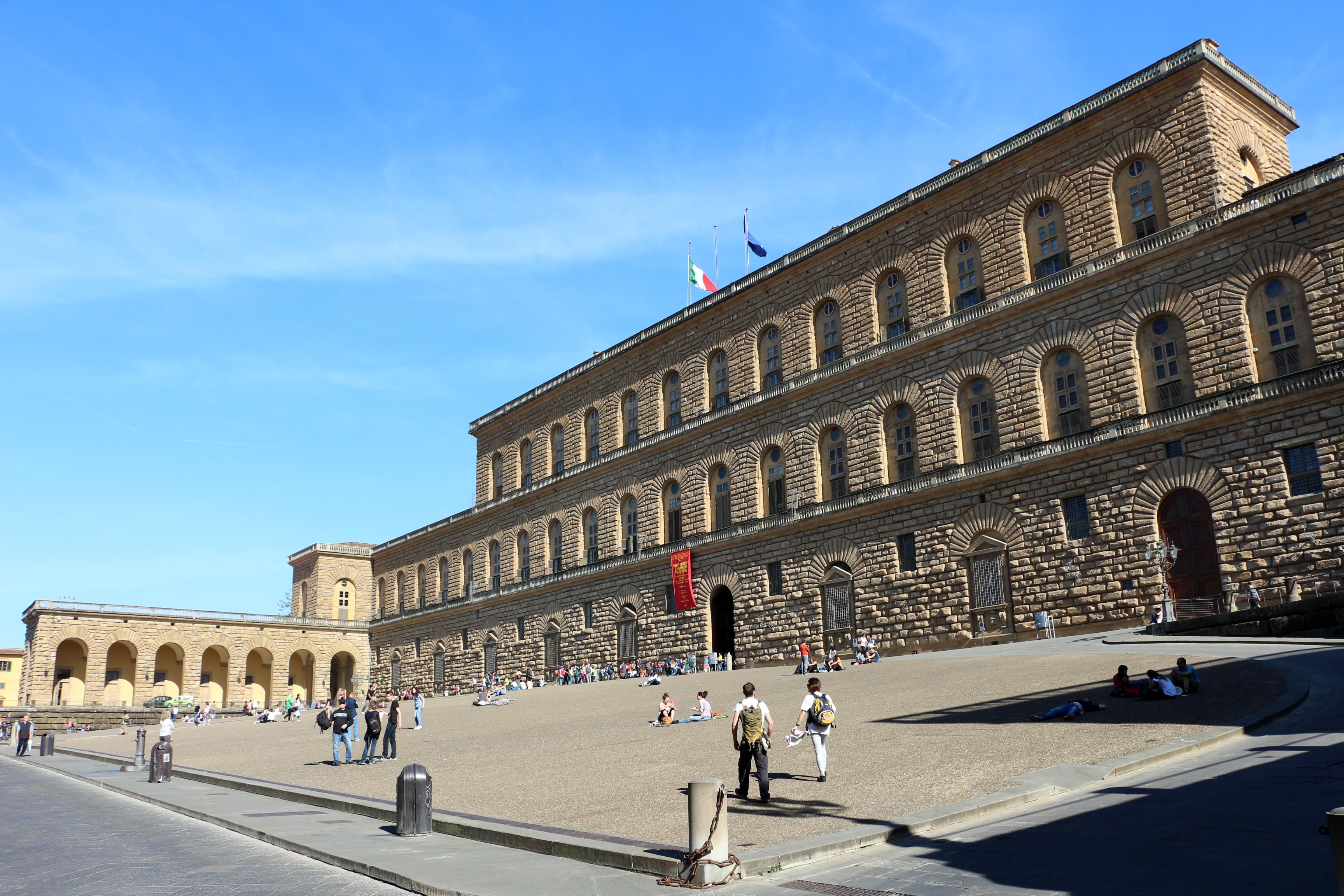 File palazzo pitti veduta ext 01 jpg wikimedia commons for Palazzo pitti