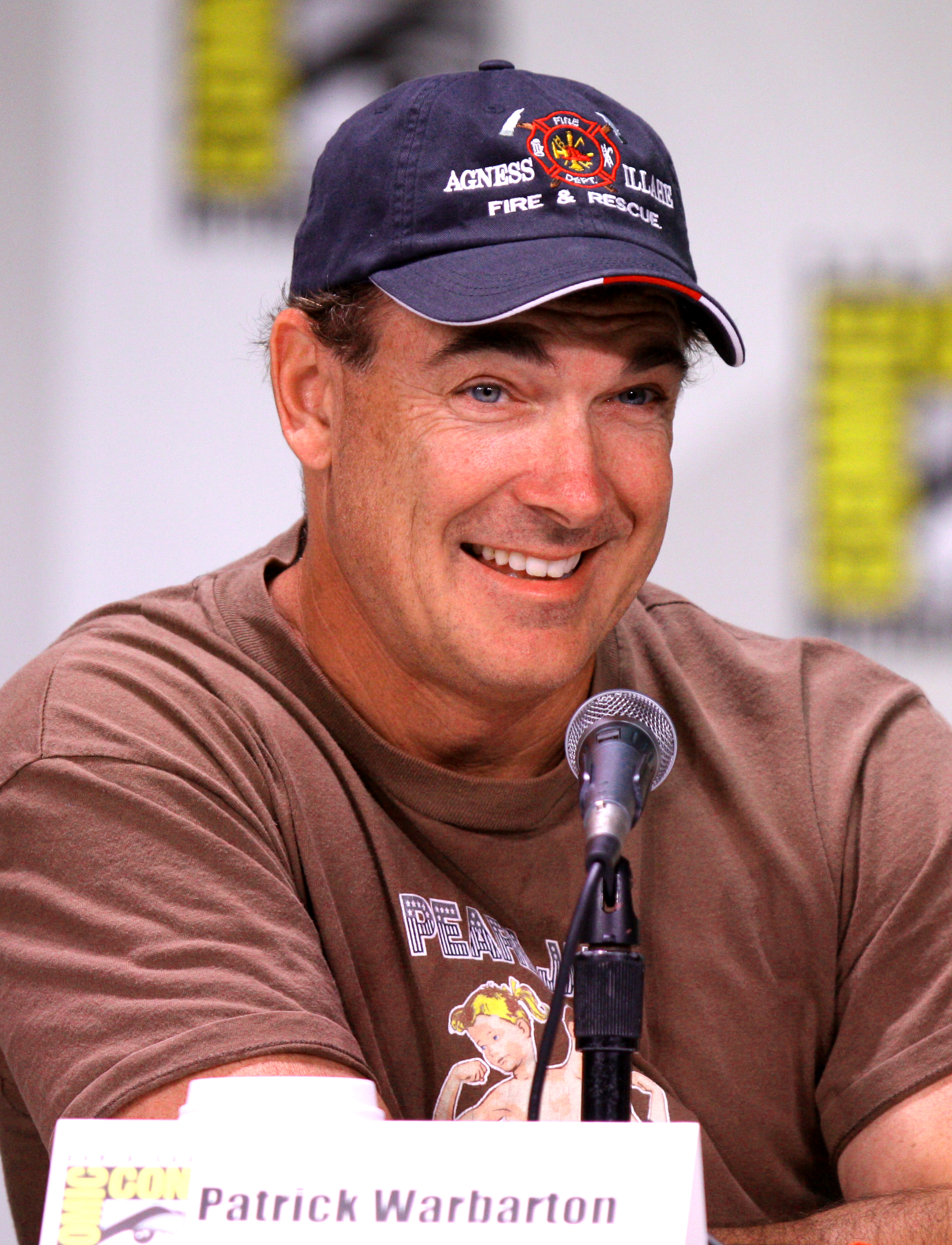 The 56-year old son of father (?) and mother(?) Patrick Warburton in 2021 photo. Patrick Warburton earned a  million dollar salary - leaving the net worth at  million in 2021