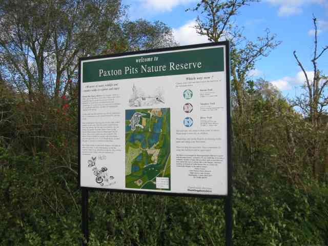 Paxton Pits Nature Reserve. - geograph.org.uk - 22743