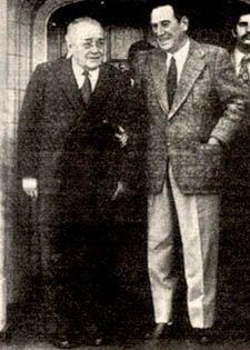 El histórico abrazo entre Balbín y Perón, en Vicente López (1972)