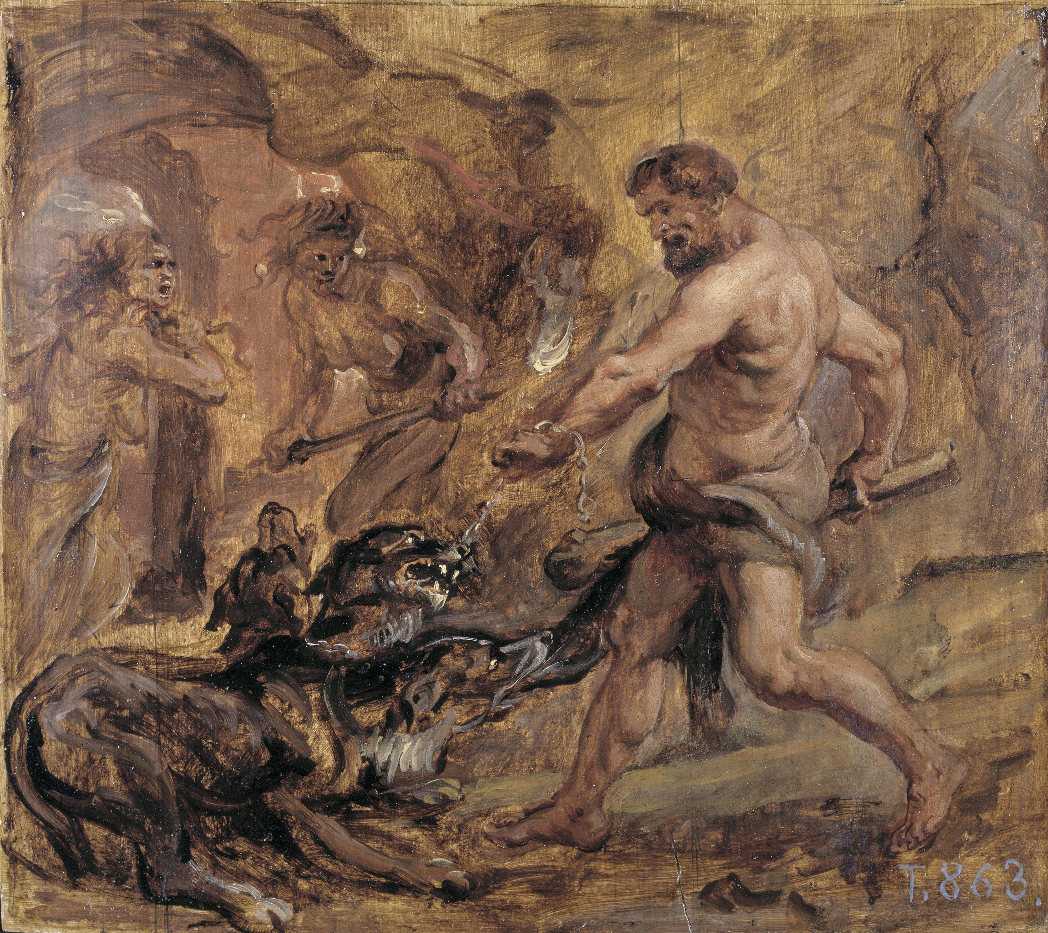 and cerberus Hercules