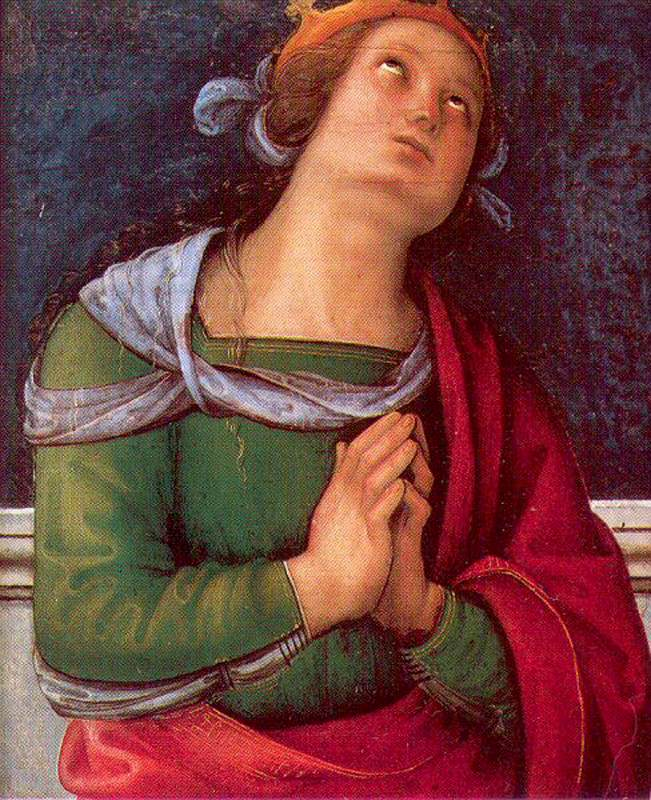 Pietro Perugino - Saint Flavia - WGA17311.jpg