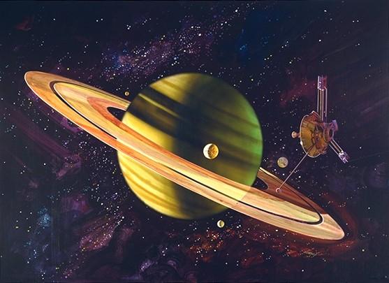 File Pioneer 11 At Saturn Jpg Wikimedia Commons