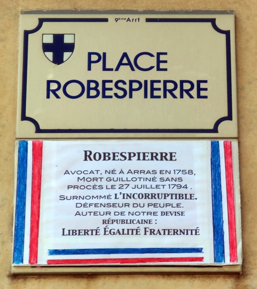 """robespierre essay The terror is forever identified with robespierre he warned that for those who would not learn virtue, the """"razor of the rupublic"""" waited."""