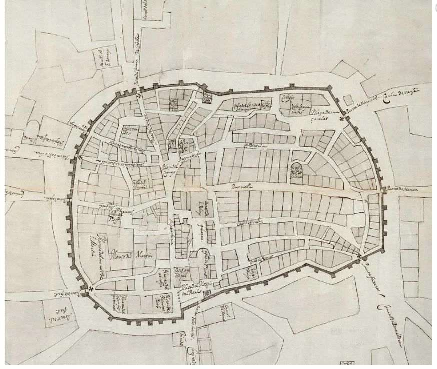 File Plano Santiago 1595 Archivo General De Simancas Mpd 34