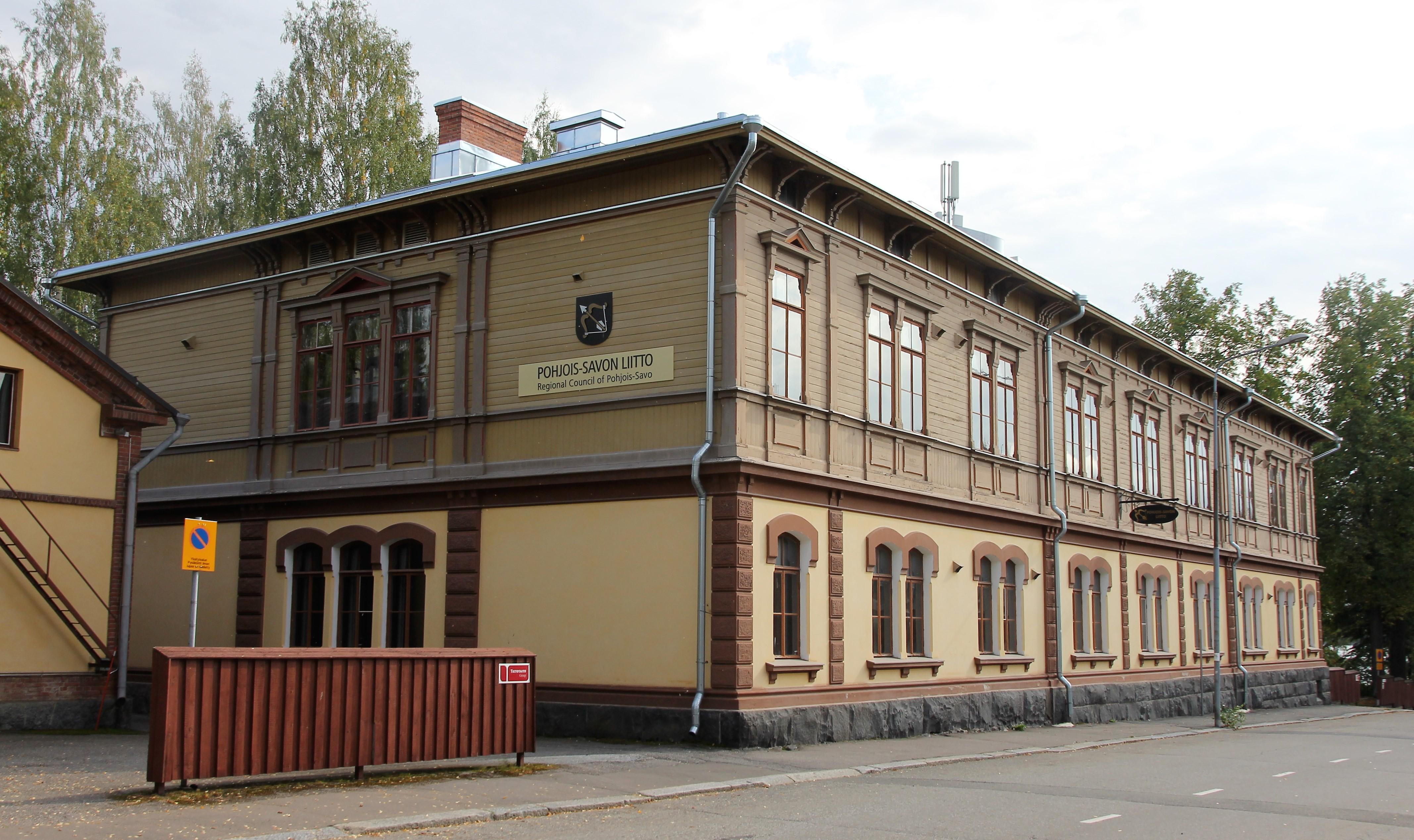 Pohjois-Savon liitto - Sepänkatu 1 - Kuopio.jpg