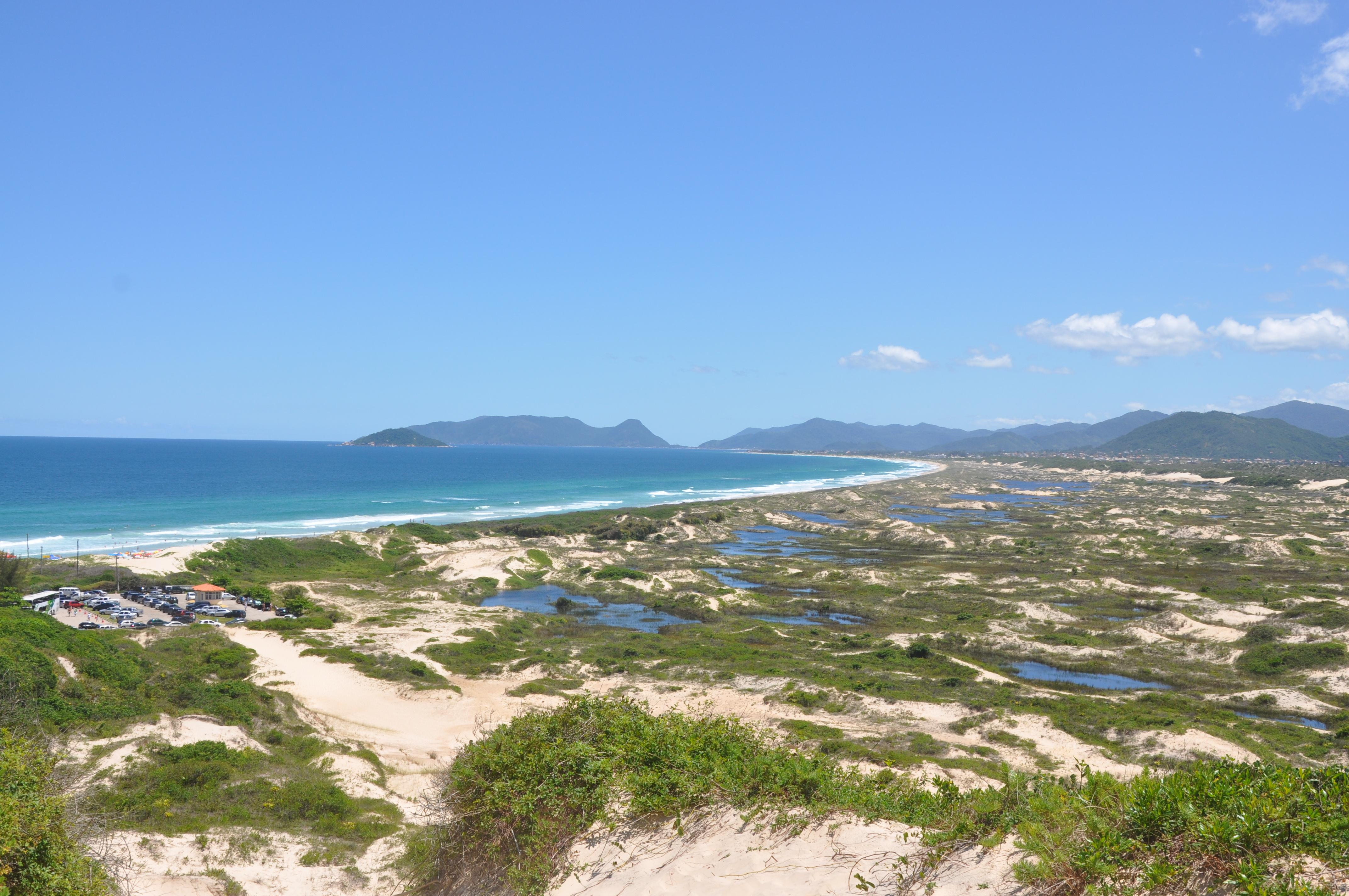 praia da joaquina uma das melhores de santa catarina