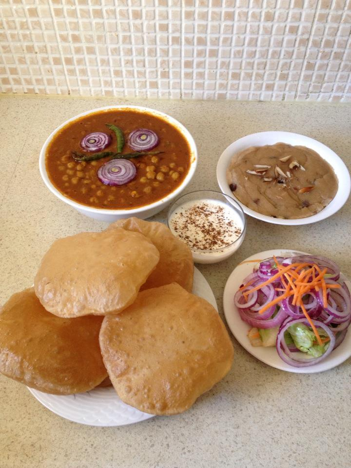 how to make chole bhature at home