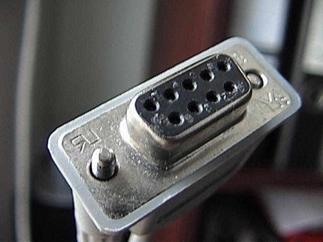 RS232Cケーブルの端子