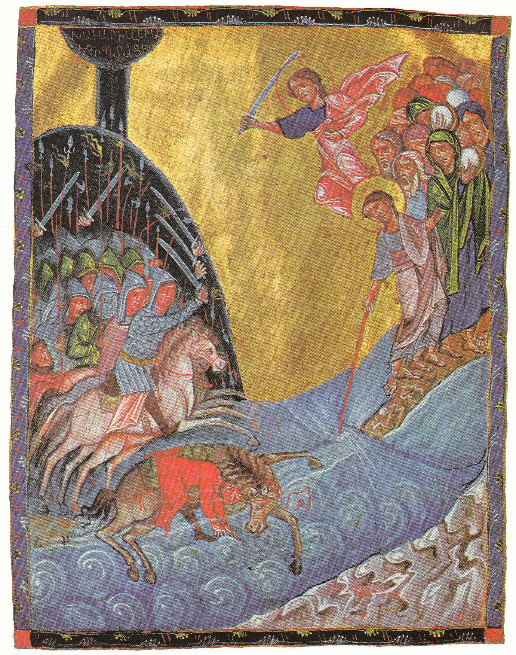 Il passaggio del Mar Rosso dans immagini sacre Red_sea_passage