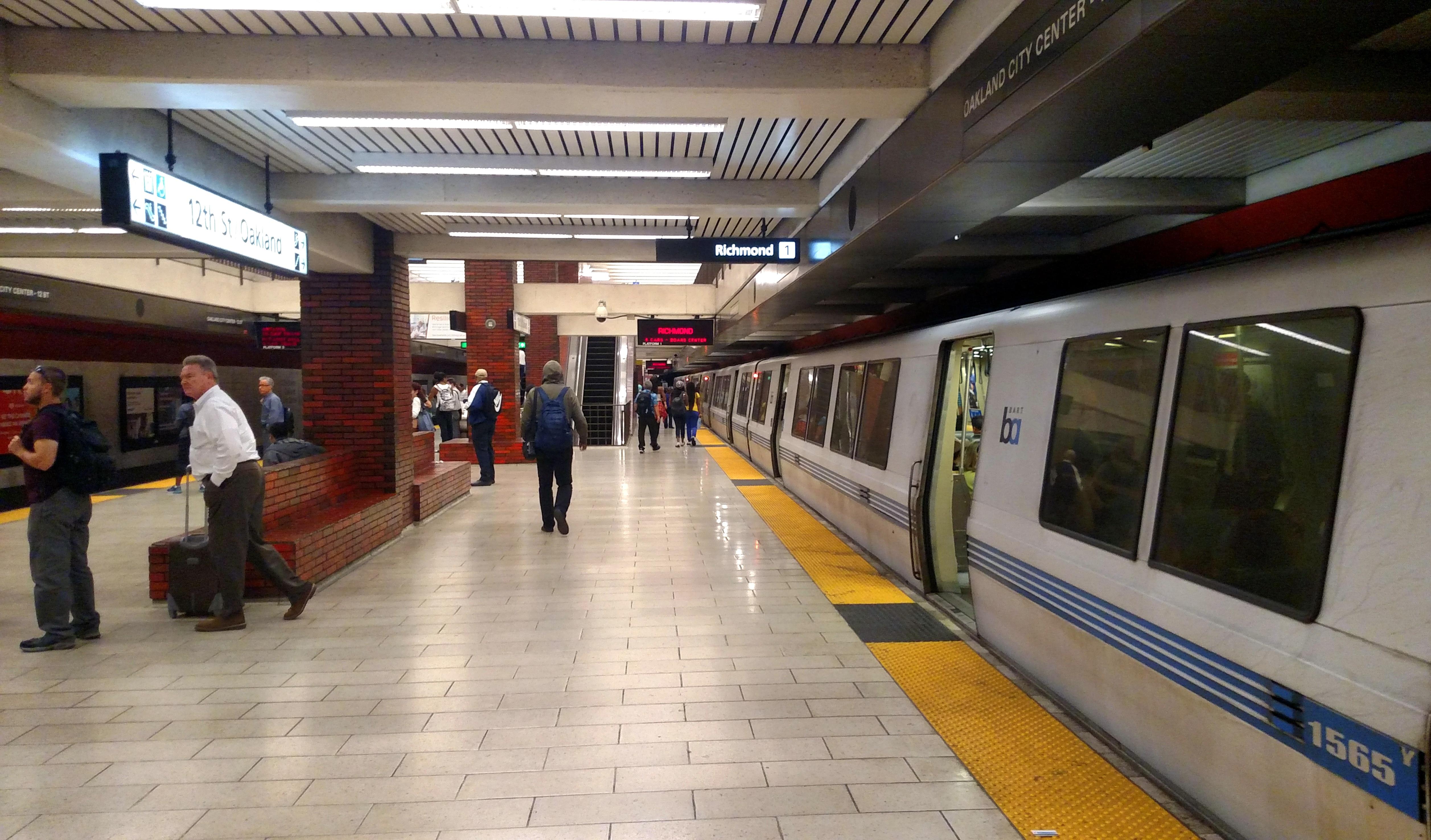richmond bound train announces - HD5028×2952