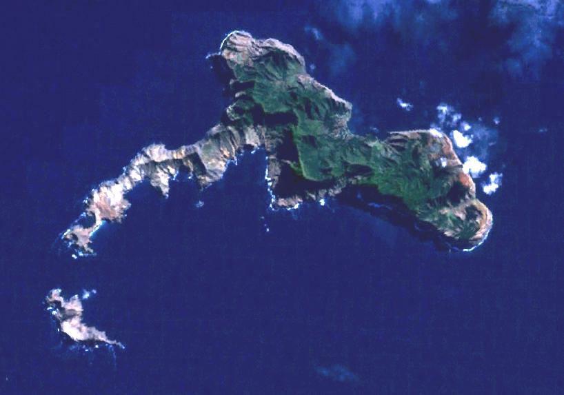 Robinson Crusoe Island Fiji Map