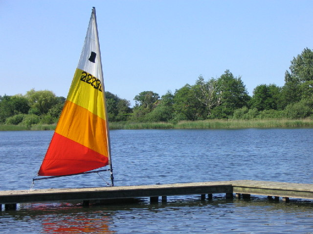 Rollesby Broad from the Sailing Club jetty - geograph.org.uk - 43440