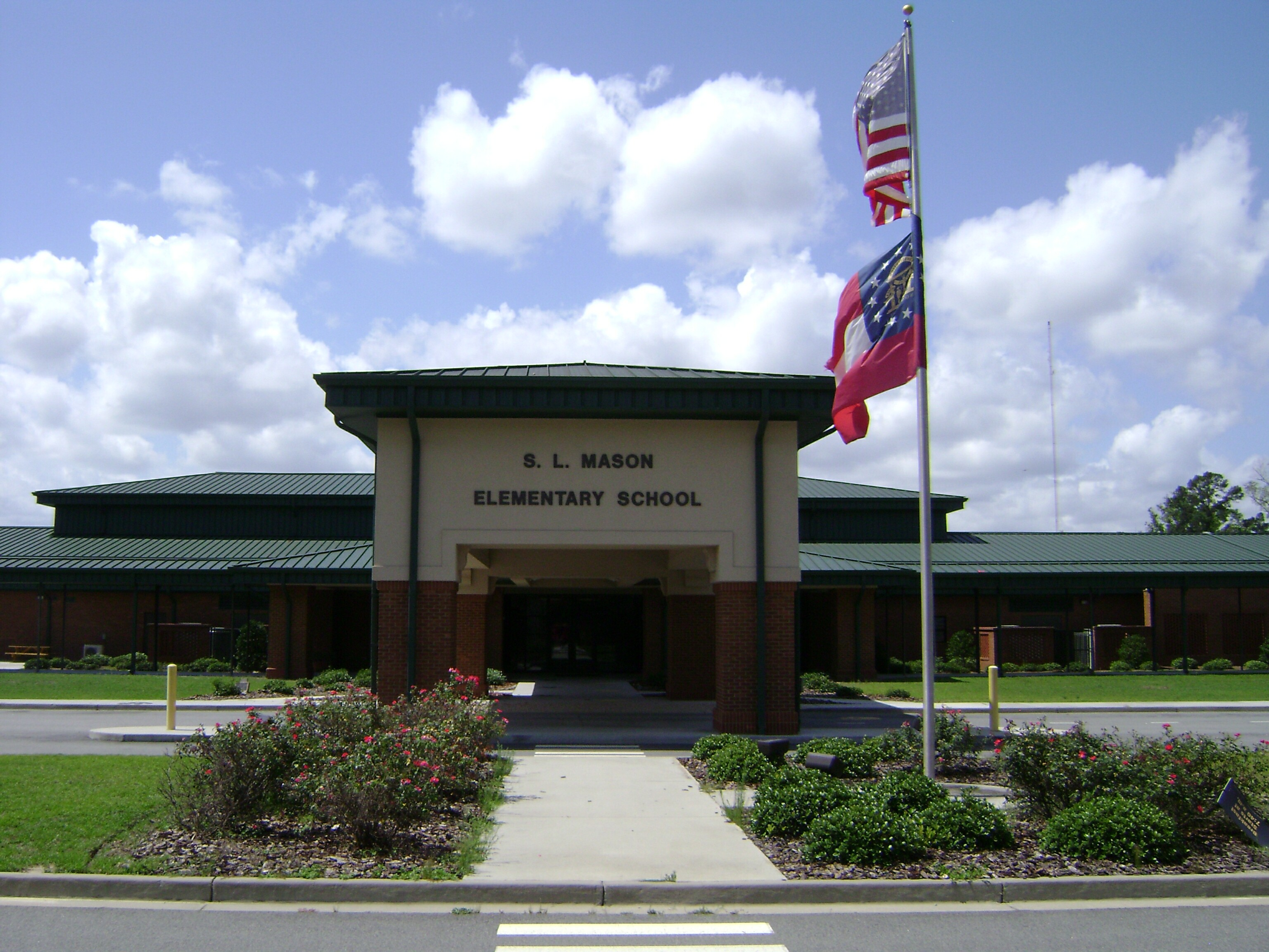 File:S L Mason Elementary School.jpg