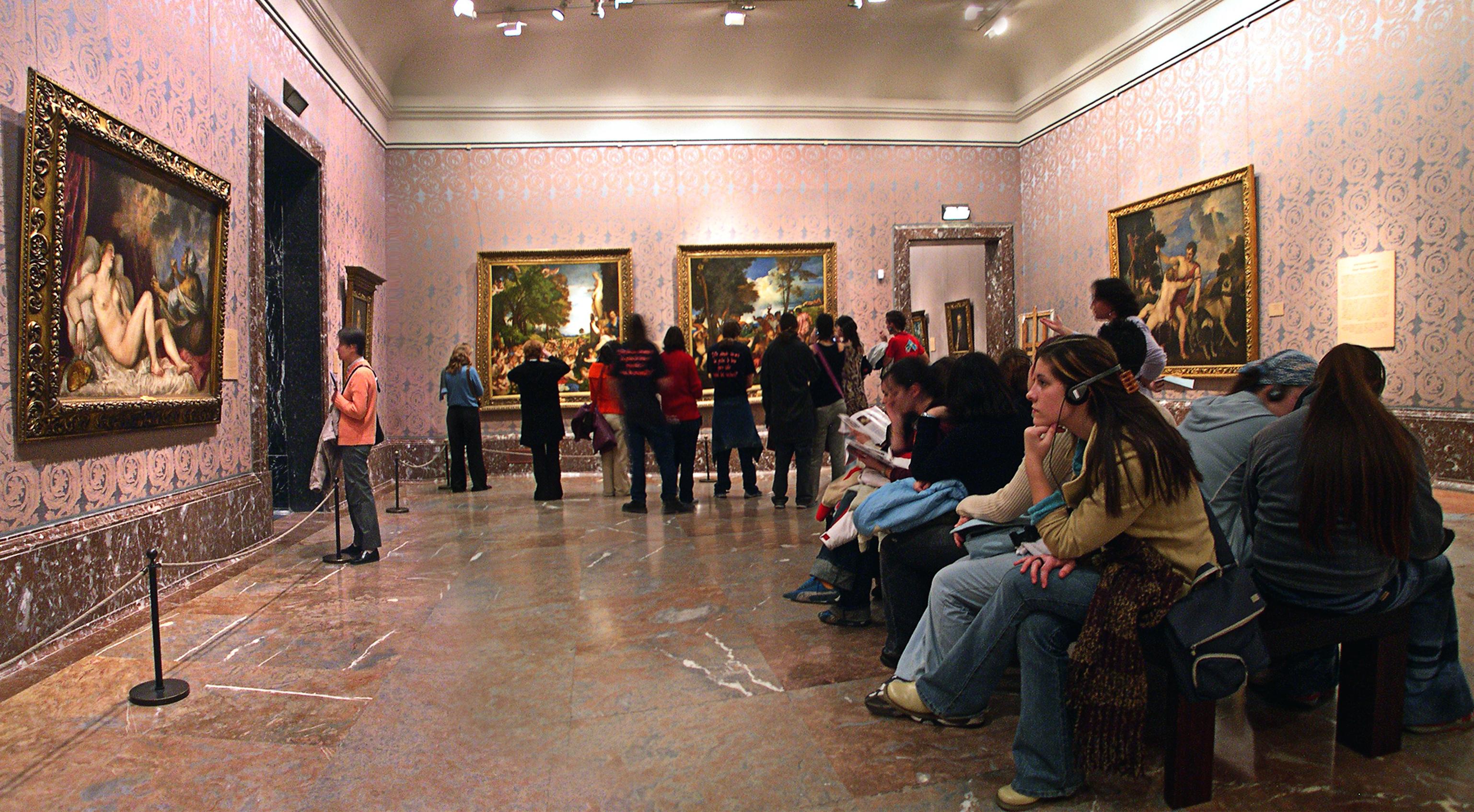 Pintura italiana del museo del prado wikiwand - Pinturas para salas ...