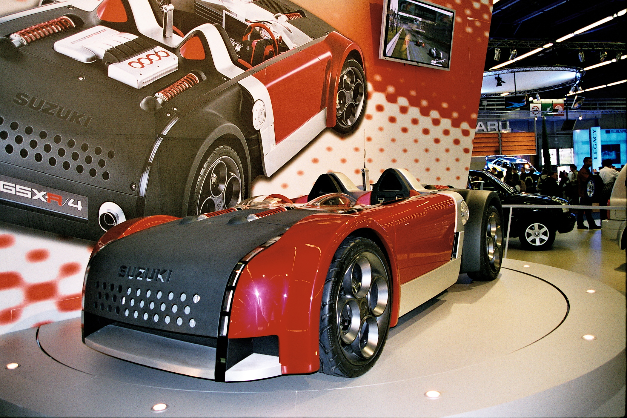 Suzuki Gsxr Car