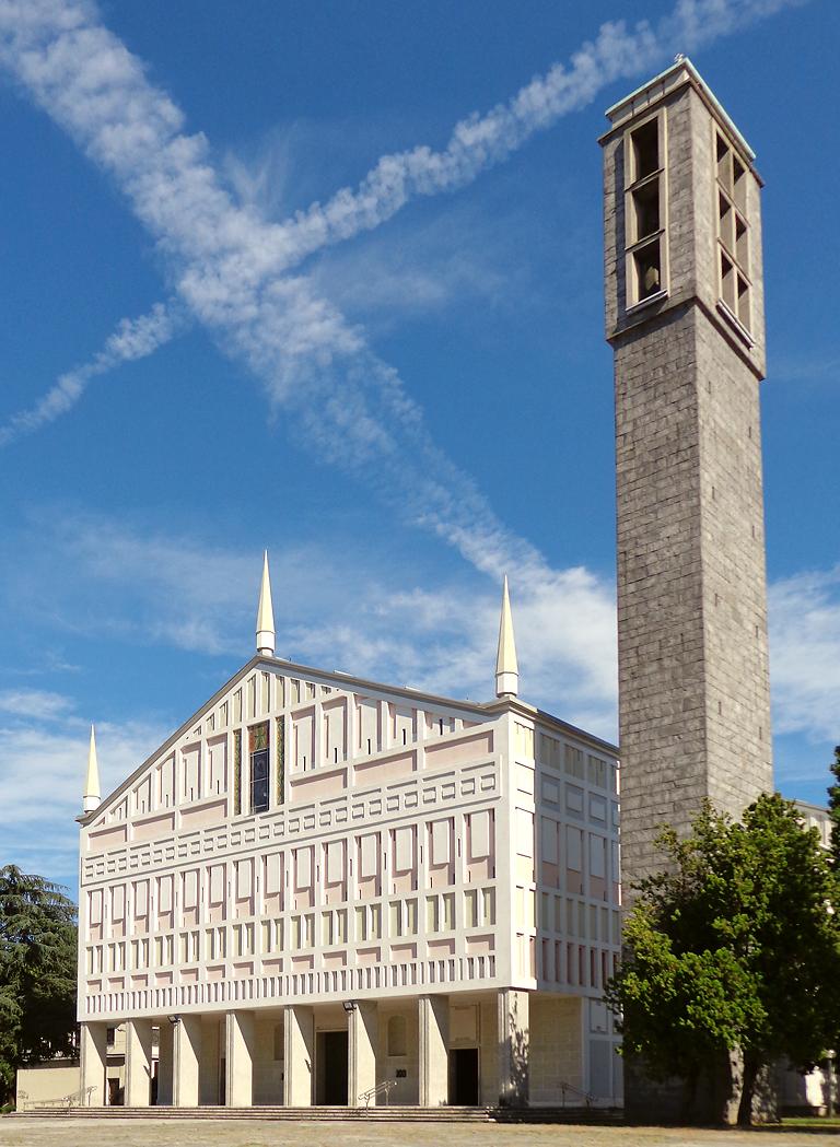 Chiesa di santa barbara san donato milanese wikipedia for Arredamenti ballabio san donato milanese