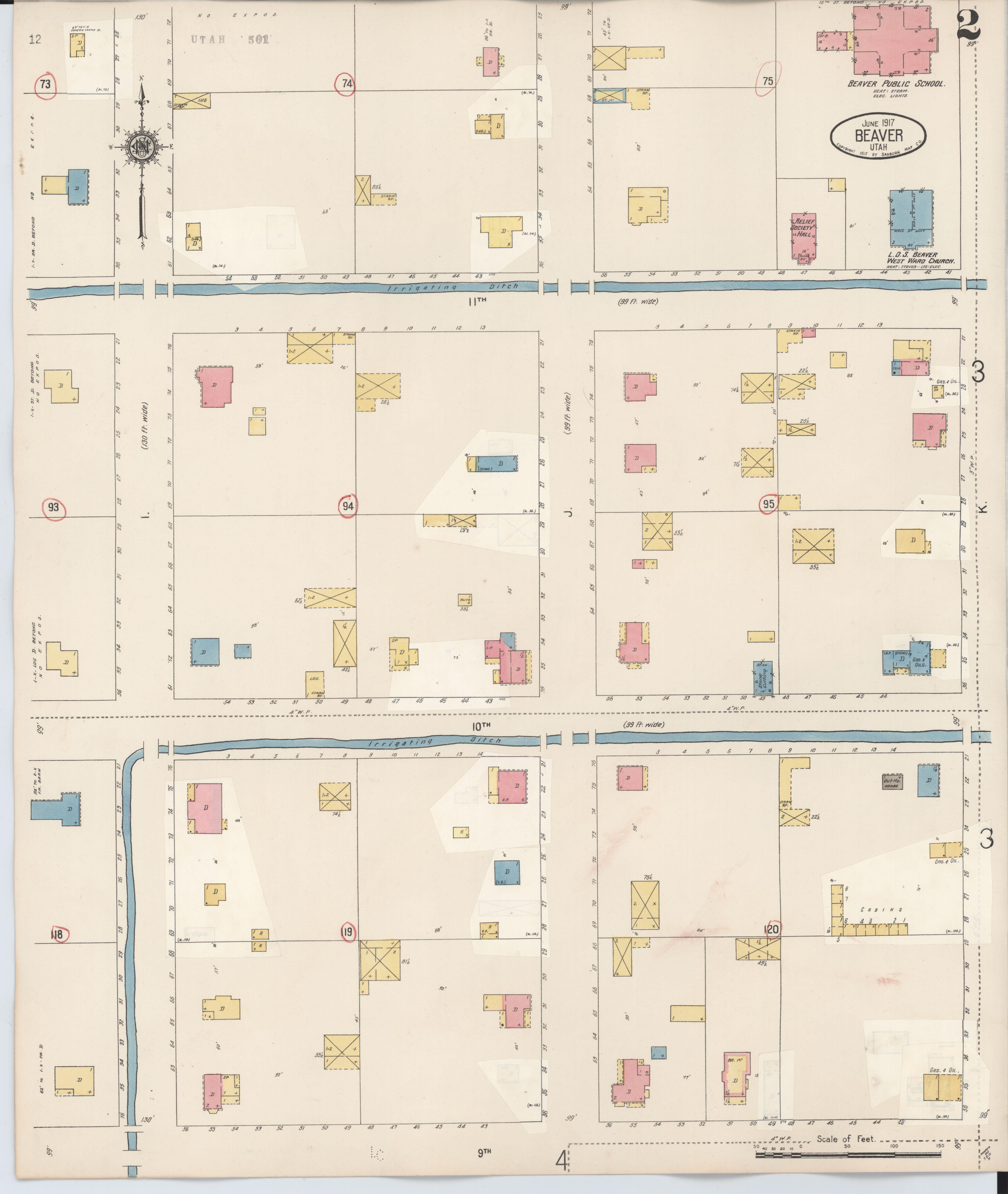 File Sanborn Fire Insurance Map From Beaver Beaver County Utah