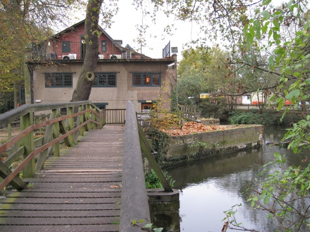 Saxon Mill from the east across the Avon - geograph.org.uk - 1571101