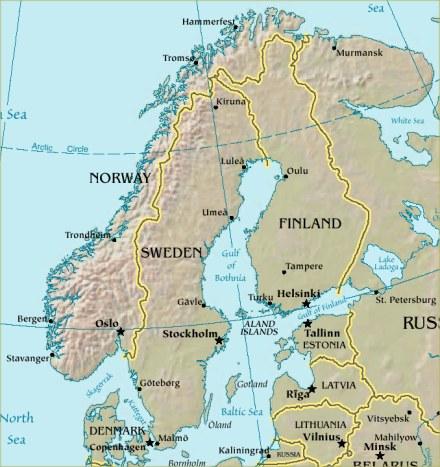 ''Skandinavien''