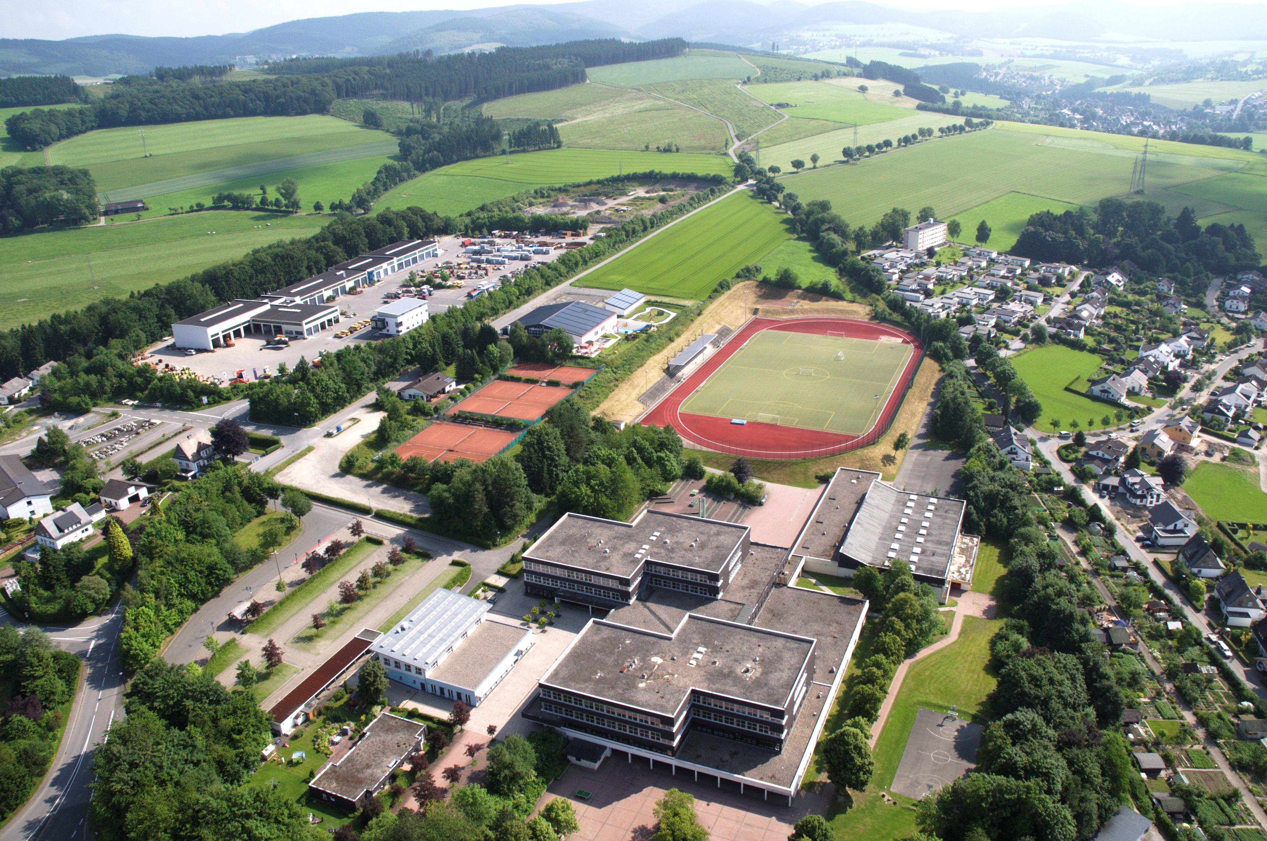 Schmallenberg Sportplatz Schulzentrum Sauerland Ost 212 pk