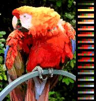Ekrana kolortesto AppleIIgs 16x16colors.png