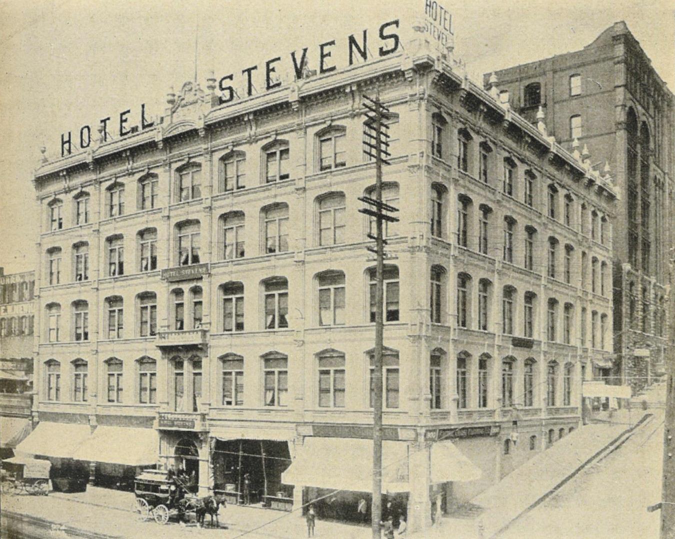 Stevens Hotel Chicago Ol South Room