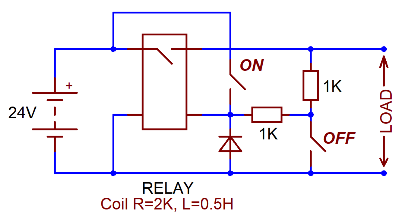 Normally Open Switch >> File Self Locking Relay Battery Switch With Normally Open Contacts
