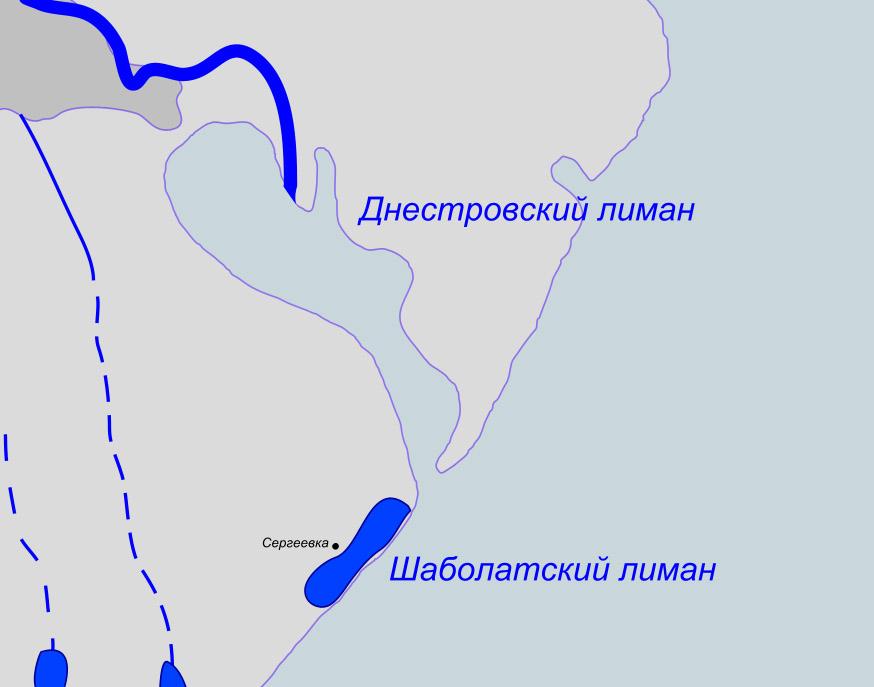 карта лиманского залива