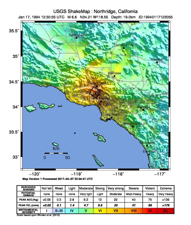 La Earthquake Case Study 1994