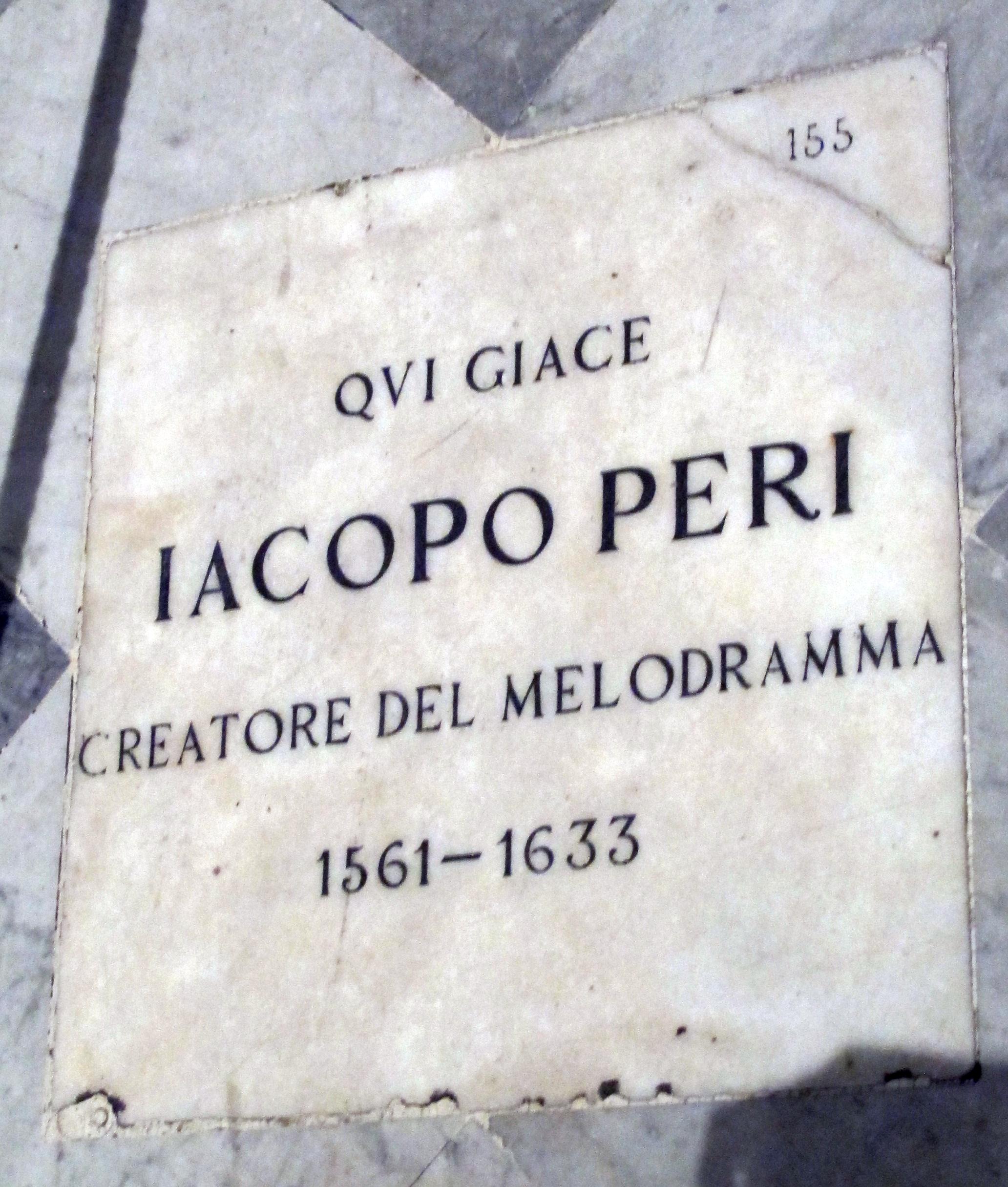 Jacopo Peri Jacopo Peri Wikipedia the free encyclopedia