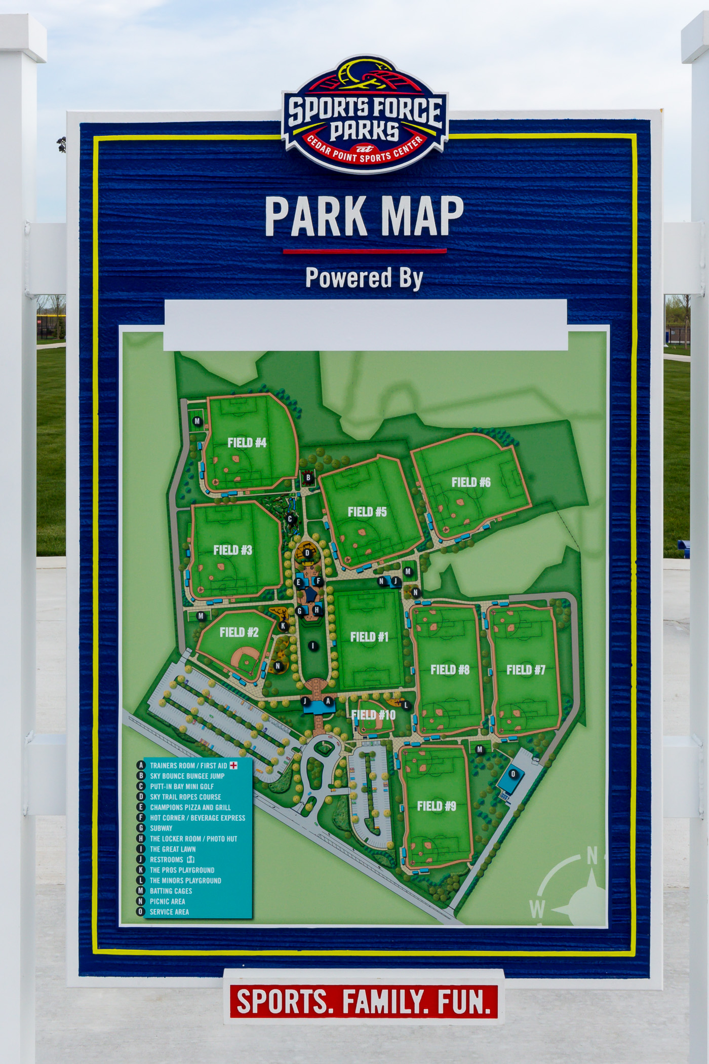 File:Sports Force Parks at Cedar Point Sports Center map ... on