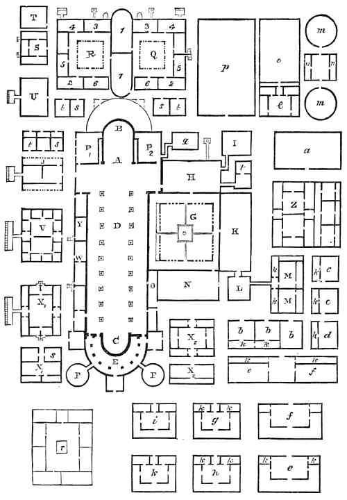 Medieval Monastery Floor Plan