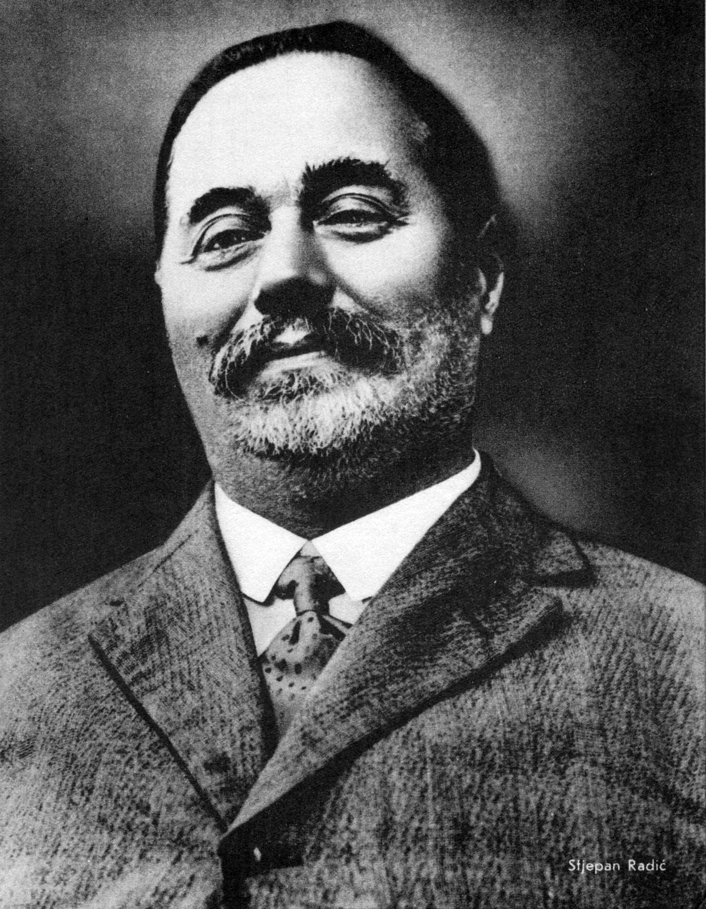 Stjepan Radić in 1920s