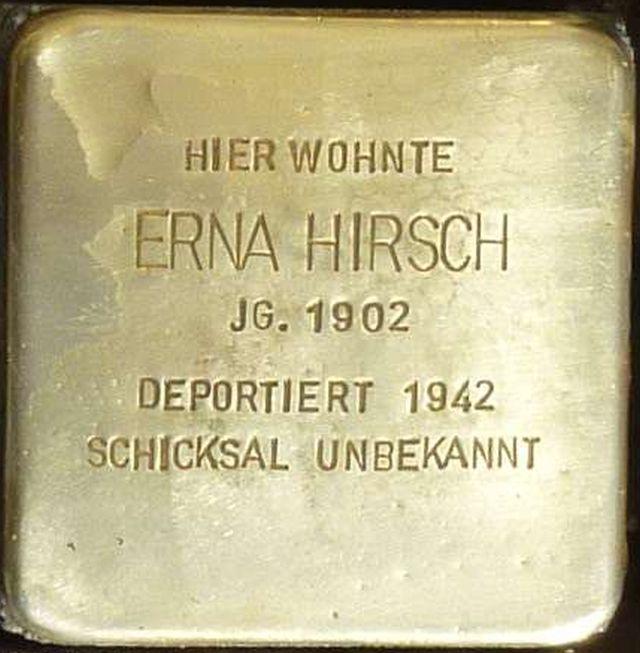 Stolperstein Alzey Erna Hirsch.jpg