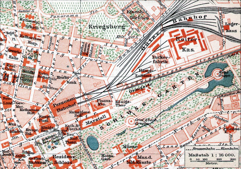 File:Stuttgart, Stadtplan, Ausschnitt Güterbahnhof, 1896.jpg ...