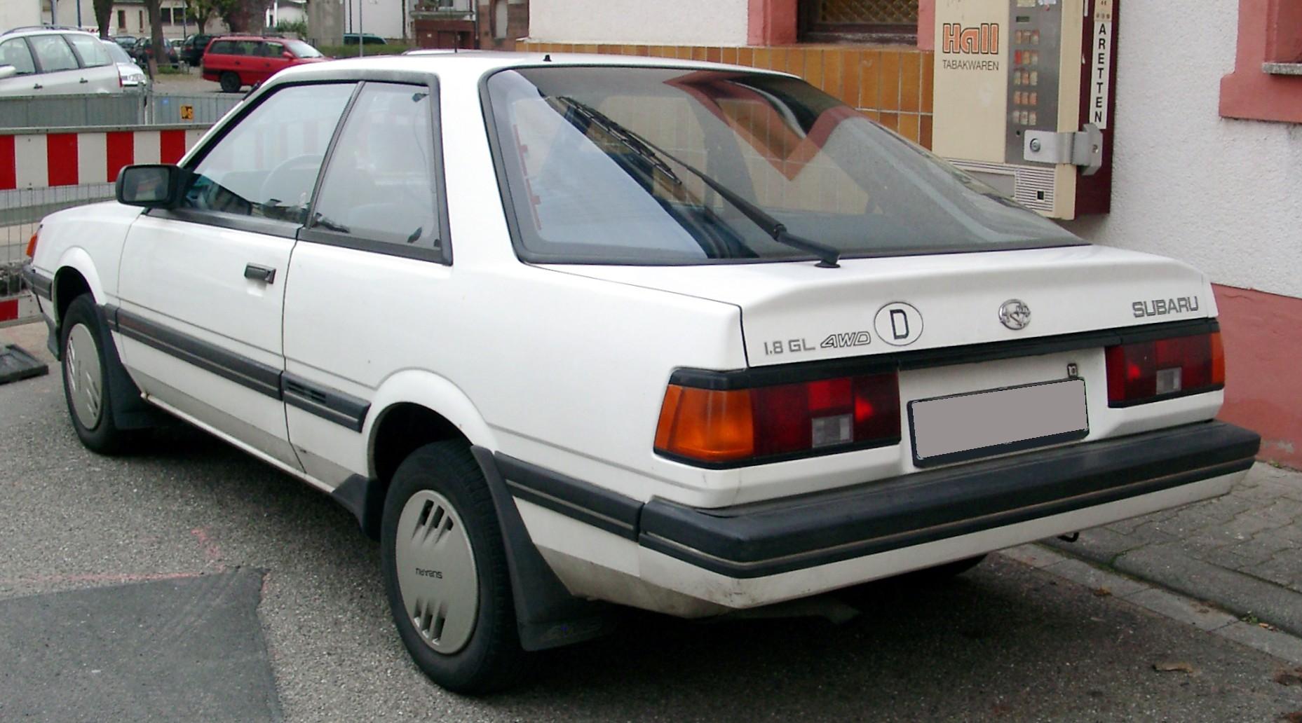 Subaru loyale coupe