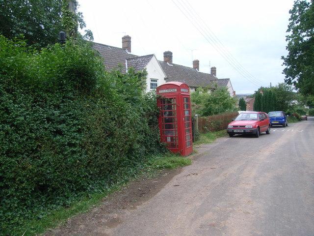 Telephone kiosk at West Bagborough - geograph.org.uk - 885486