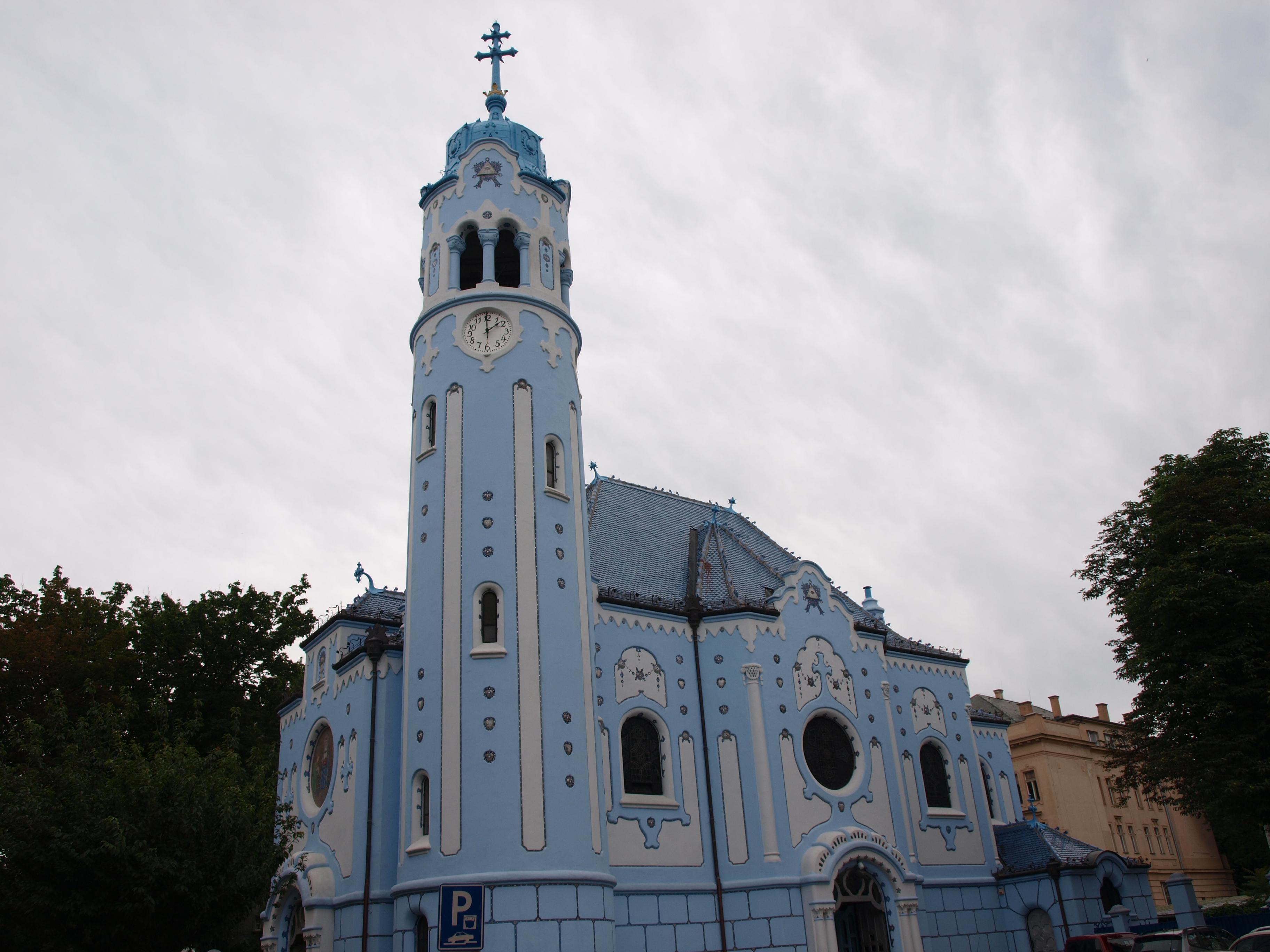 Blue Church Bratislava Blue Church in Bratislava
