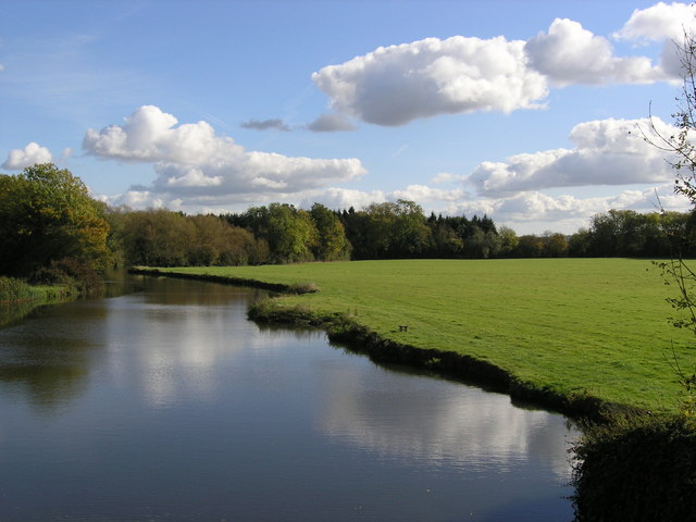 The River Medway at Ford Green Bridge - geograph.org.uk - 1016417
