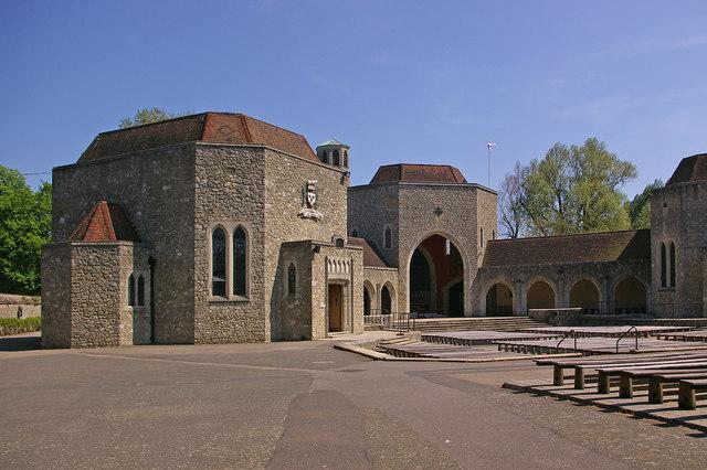 The Shrine, Aylesford Priory - geograph.org.uk - 1202586