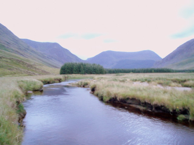 The South Esk, Glen Clova. - geograph.org.uk - 516493